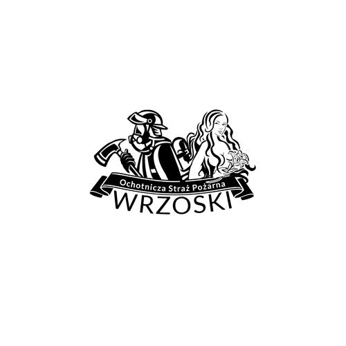 rostar - loga logotypy - osp wrzoski