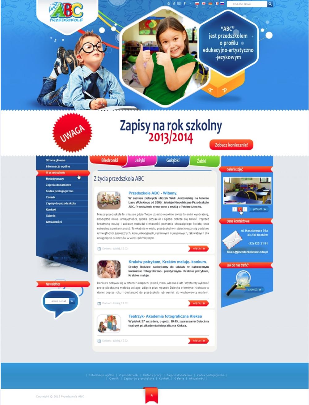 rostar - strony sklepy internetowe - abc przedszkole