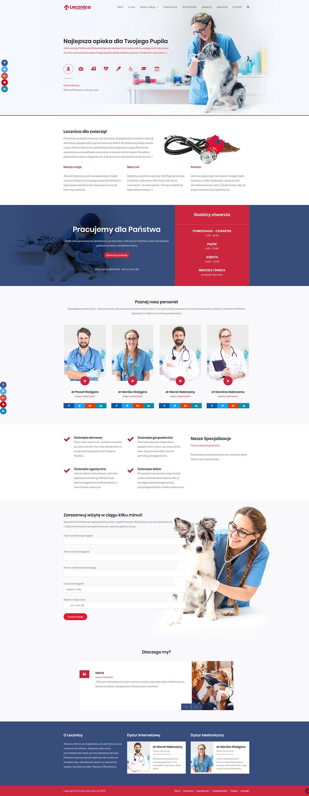 rostar - strony sklepy internetowe - lecznica